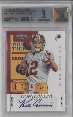 2012 Panini Contenders - [Base] - Rookie Ticket Variation #155 - Kirk Cousins /175 [BGS 9]