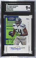 Rookie Ticket - Bobby Wagner /290 [SGC9MINT]