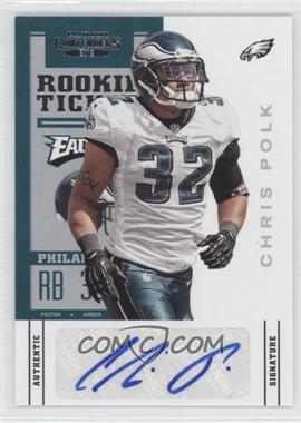 2012 Panini Contenders - [Base] #116 - Rookie Ticket - Chris Polk