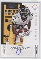 Rookie Ticket - Chris Rainey /288