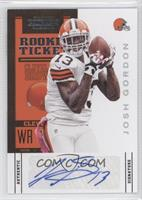 Rookie Ticket - Josh Gordon /500
