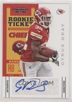 Rookie Ticket - Cyrus Gray