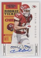 Rookie Ticket - Devon Wylie