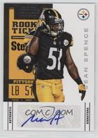 Rookie Ticket Variation - Sean Spence [Noted]