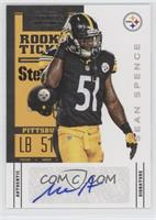 Rookie Ticket Variation - Sean Spence