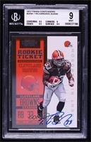 Rookie Ticket RPS - Trent Richardson [BGS 9 MINT] #/550