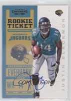 Rookie Ticket RPS - Justin Blackmon #/550