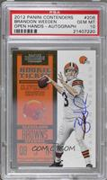 Rookie Ticket RPS - Brandon Weeden [PSA 10 GEM MT] #/550