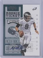 Rookie Ticket RPS - Nick Foles #/550