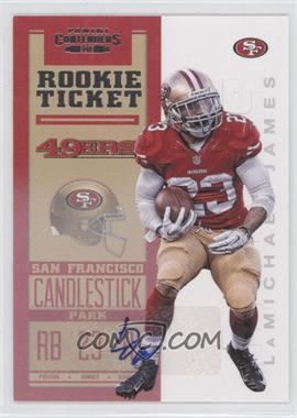2012 Panini Contenders - [Base] #219 - Rookie Ticket RPS - LaMichael James