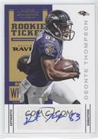 Rookie Ticket - Deonte Thompson /550