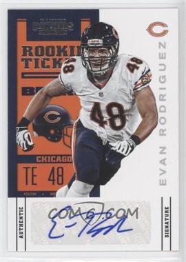 2012 Panini Contenders - [Base] #239 - Rookie Ticket - Evan Rodriguez /275