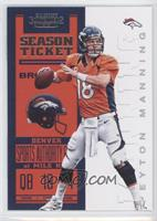 Season Ticket - Peyton Manning