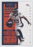 Season Ticket - Willis McGahee