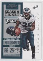 Season Ticket - LeSean McCoy