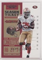 Season Ticket - Frank Gore