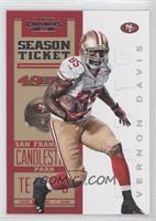 Season Ticket - Vernon Davis