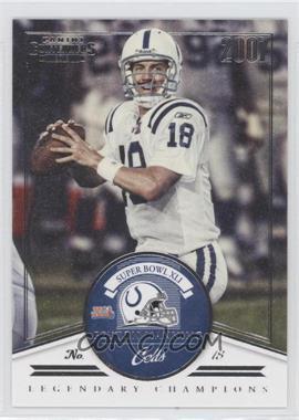 2012 Panini Contenders - Legendary Champions #5 - Peyton Manning