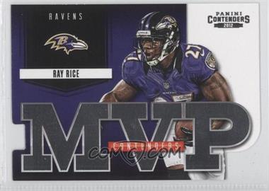 2012 Panini Contenders - MVP Contenders #1 - Ray Rice