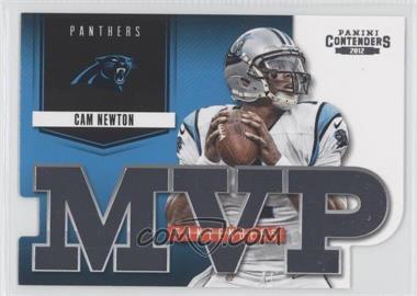 2012 Panini Contenders - MVP Contenders #11 - Cam Newton