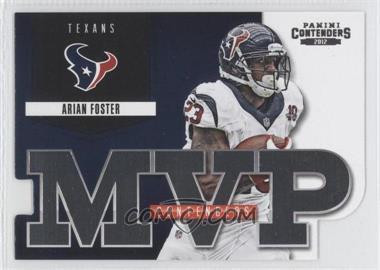 2012 Panini Contenders - MVP Contenders #3 - Arian Foster