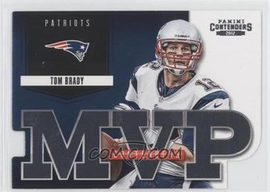 2012 Panini Contenders - MVP Contenders #4 - Tom Brady