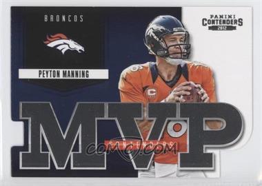 2012 Panini Contenders - MVP Contenders #5 - Peyton Manning