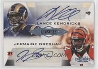 Jermaine Gresham, Lance Kendricks #/25