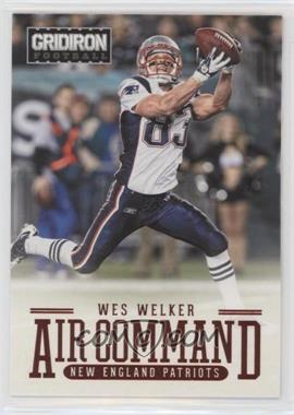 2012 Panini Gridiron - Air Command #7 - Wes Welker
