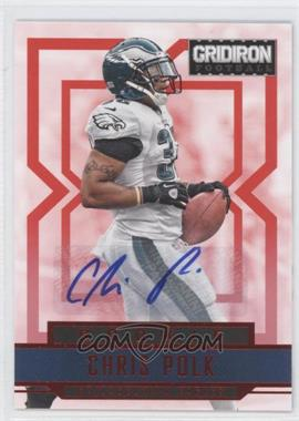 2012 Panini Gridiron - [Base] - Rookie Signatures Xs [Autographed] #216 - Chris Polk /499