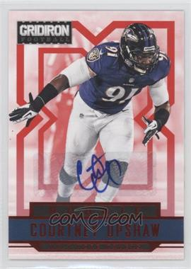 2012 Panini Gridiron - [Base] - Rookie Signatures Xs [Autographed] #220 - Courtney Upshaw /499