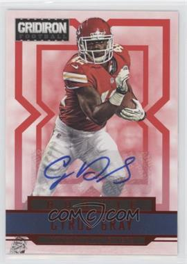 2012 Panini Gridiron - [Base] - Rookie Signatures Xs [Autographed] #221 - Cyrus Gray /499
