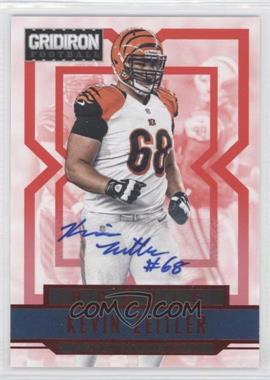 2012 Panini Gridiron - [Base] - Rookie Signatures Xs [Autographed] #254 - Kevin Zeitler /499