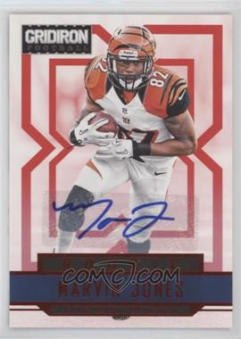 2012 Panini Gridiron - [Base] - Rookie Signatures Xs [Autographed] #263 - Marvin Jones /499