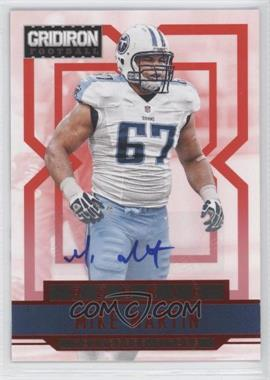 2012 Panini Gridiron - [Base] - Rookie Signatures Xs [Autographed] #269 - Mike Martin /499