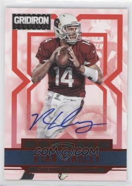 2012 Panini Gridiron - [Base] - Rookie Signatures Xs [Autographed] #282 - Ryan Lindley /499