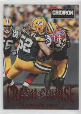 2012 Panini Gridiron - Crash Course #9 - Clay Matthews