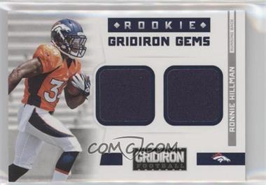 2012 Panini Gridiron - Rookie Gridiron Gems - Combo Materials #310 - Ronnie Hillman /249