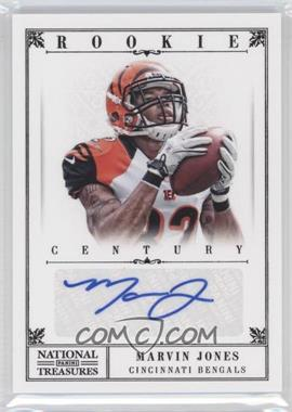 2012 Panini National Treasures - [Base] - Century Black Signatures [Autographed] #264 - Marvin Jones /25