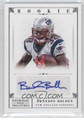 2012 Panini National Treasures - [Base] #210 - Brandon Bolden /99