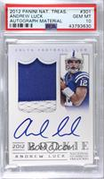 Andrew Luck [PSA 10 GEM MT] #/99