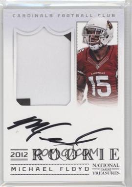 2012 Panini National Treasures - [Base] #308 - Michael Floyd /99