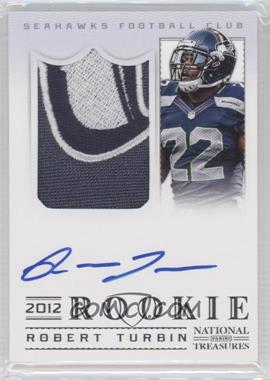 2012 Panini National Treasures - [Base] #329 - Robert Turbin /99