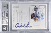 Andrew Luck [BGS 9 MINT] #/50
