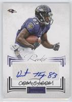 Rookies Signatures Silver - Deonte Thompson /140