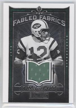 2012 Panini Playbook - Fabled Fabrics #20 - Joe Namath /99
