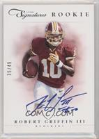 Robert Griffin III [EX to NM] #/49
