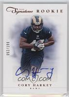 Rookie Prime Signatures - Cory Harkey /199