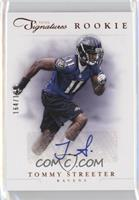 Rookie Prime Signatures - Tommy Streeter #/199