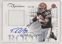 Trent Richardson [EX to NM] #/49